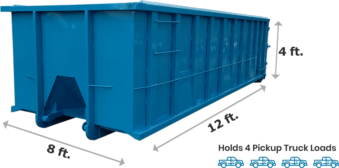10 Yard Dumpster new